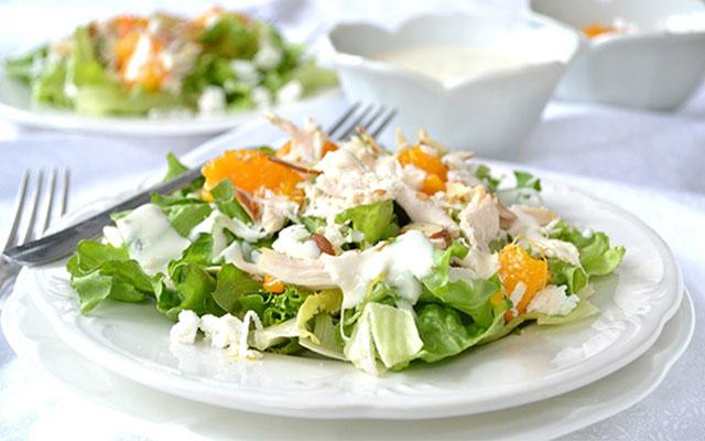 Göbekli Tavuk Salatası