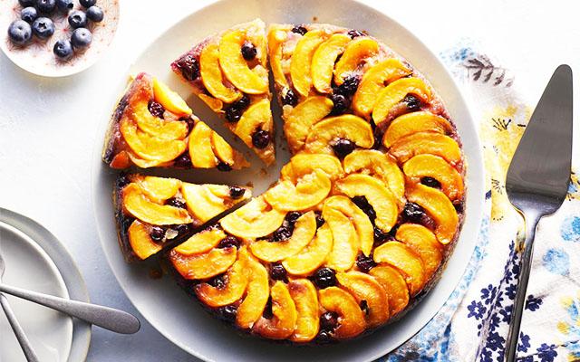 Şeftalili Tart Kek